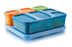 rubbermaid lunch blox kid's flat blueorangegreen