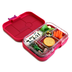 yumbox leakproof bento lunch container framboise
