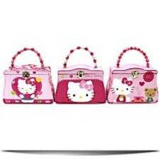 Hello Kitty Classic Purse Tin