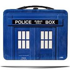Limited Edition Tardis Tin Tote Lunch