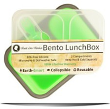 Lunch Box By 2 Compartment Food Storage