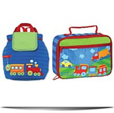 Quilted Backpack And Lunchbox
