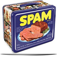 Spam Tin Lunch Box