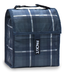 pack freezable lunch adjustable strap plaid